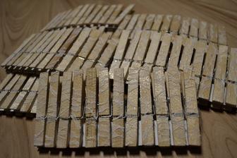 štipčeky s čipkou