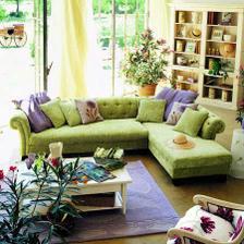 mam rada barvy, a taky kytky ... Zelena se v domecku urcite vyskytne.