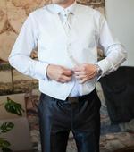 Pánska svadobná vesta - L, 52
