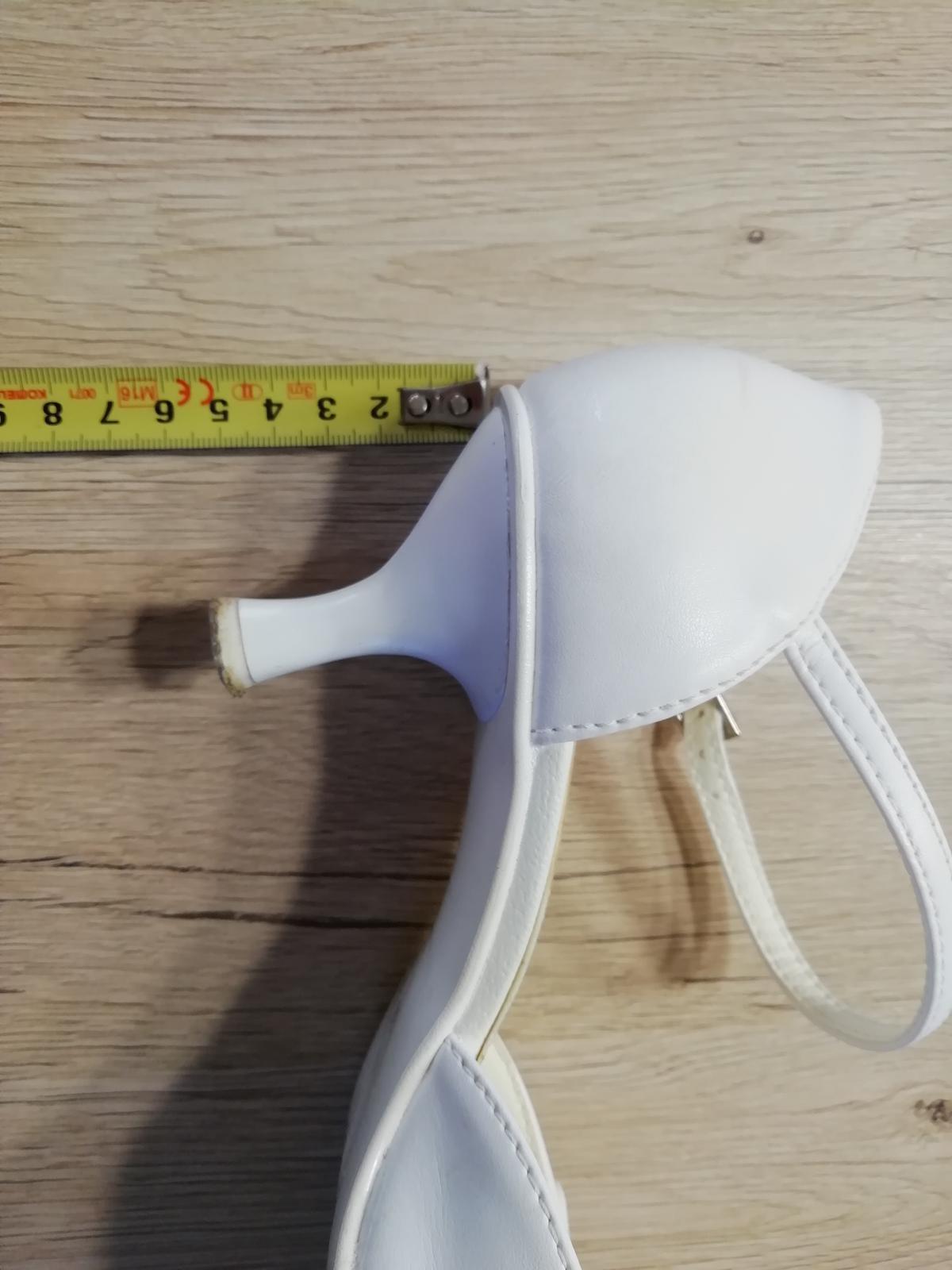 Bílé lodičky, vel. 38 - Obrázek č. 3