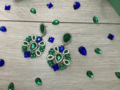 Zeleno-modré Visiace naúšnice Eclipse,