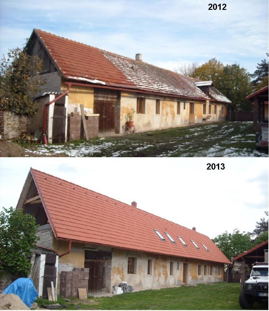 Rekonstruovali jsme střechu v... - Obrázek č. 1