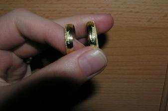 naše prstýnky v detailu