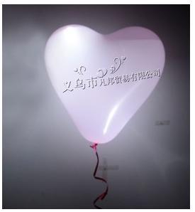 Co uz mame...alebo ako by to malo vyzerať :) - svietiace balony naplnene heliom do rohov parketu :)