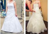 Svatební šaty na malou nevěstu, 40