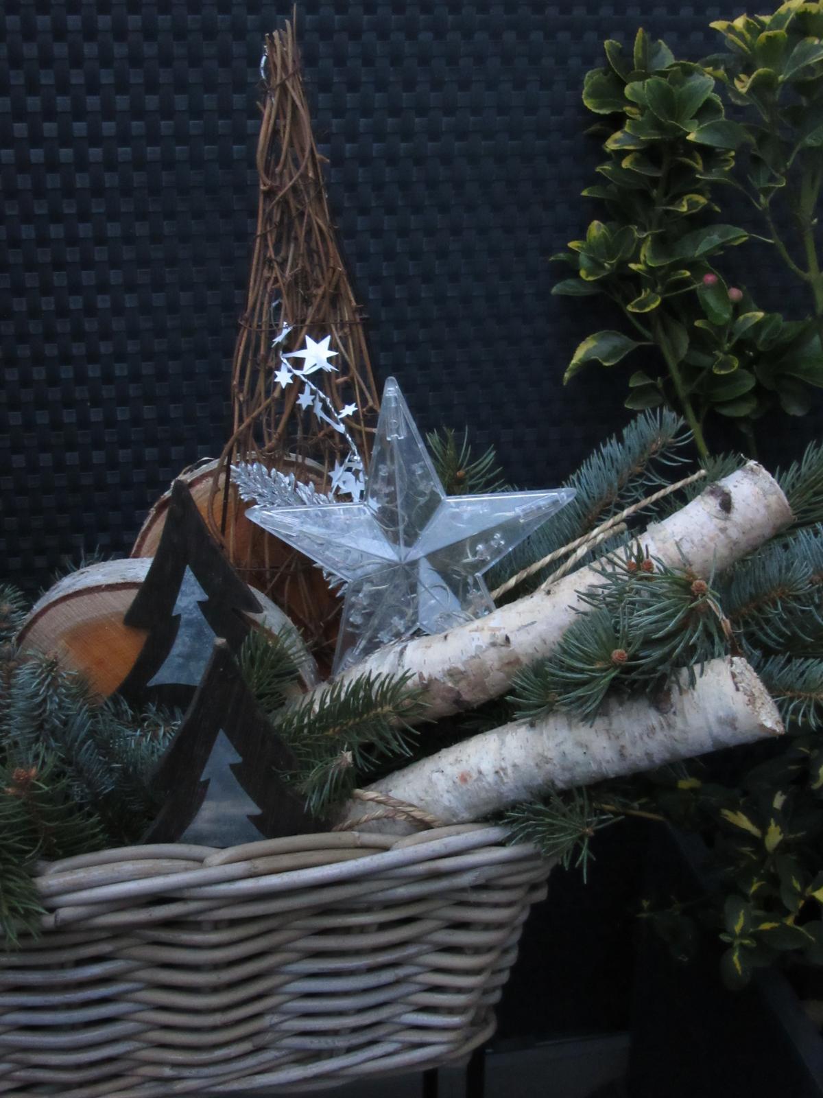 Čas vánoční - těším se , až rozsvítíme:)
