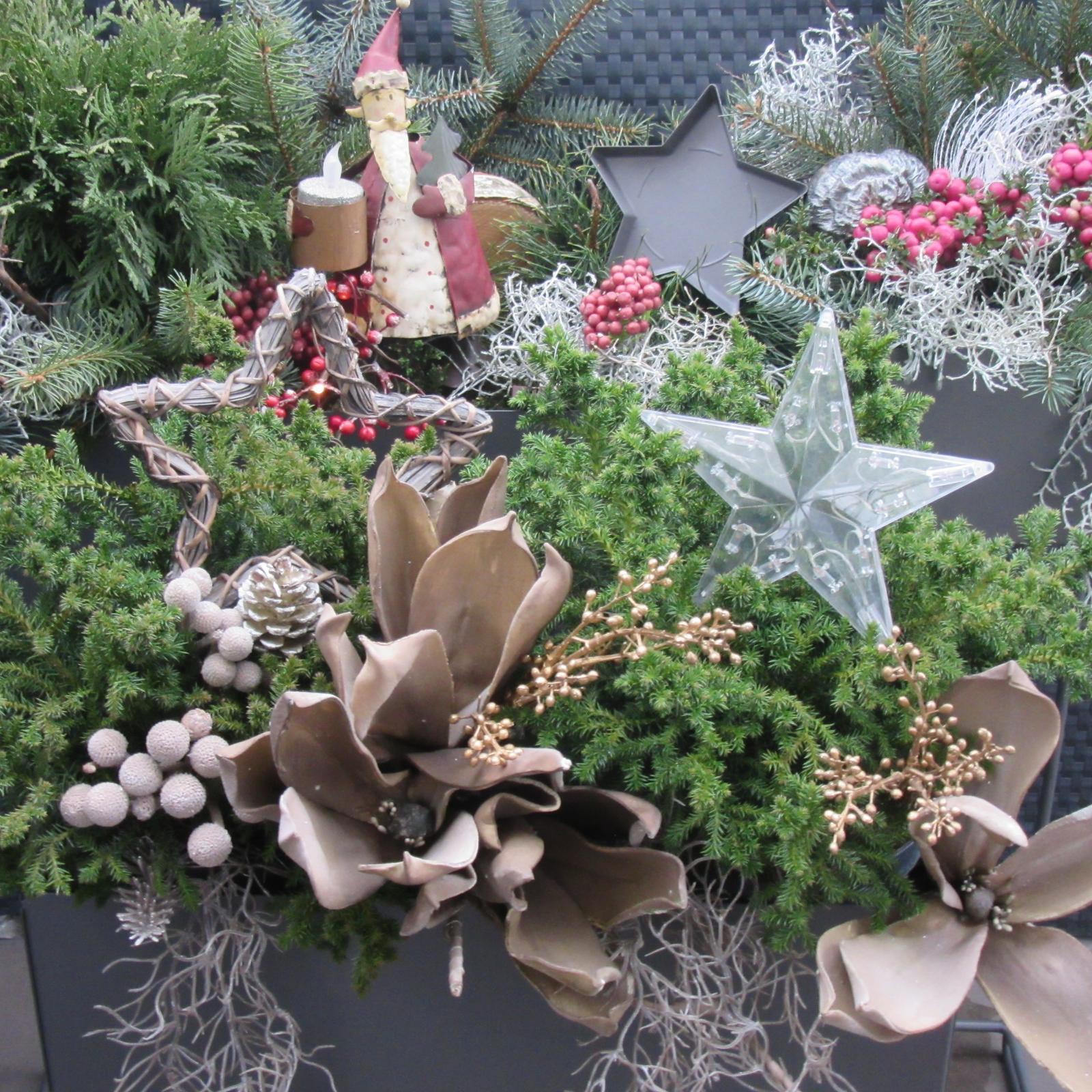 Čas vánoční - na terase