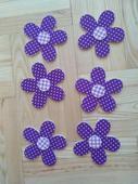 Květinky  - fialová barva,