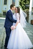 Krajkové svatební šaty Madora (42)-44-46, 44