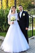 Svadobné šaty so všetkými doplnkami v. 34-38, 36