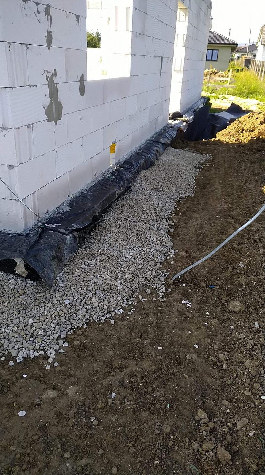 Náš Dom základy na XPS - Nepremrzne pod dom, celkovo 23cm