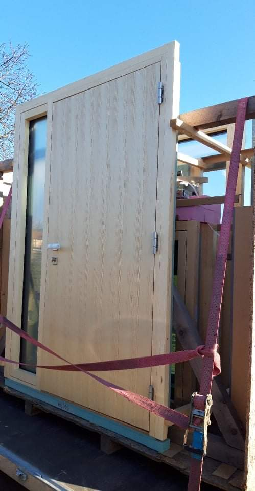 Náš Dom základy na XPS - Hoblina drevohlinik