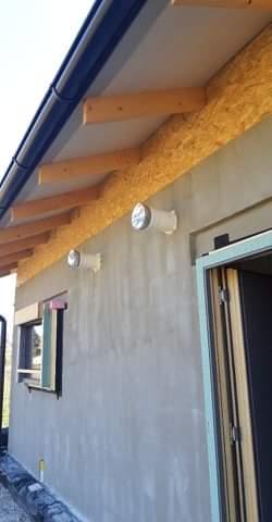 Náš Dom základy na XPS - Nachystané na 30cm zateplenie EPS 80F