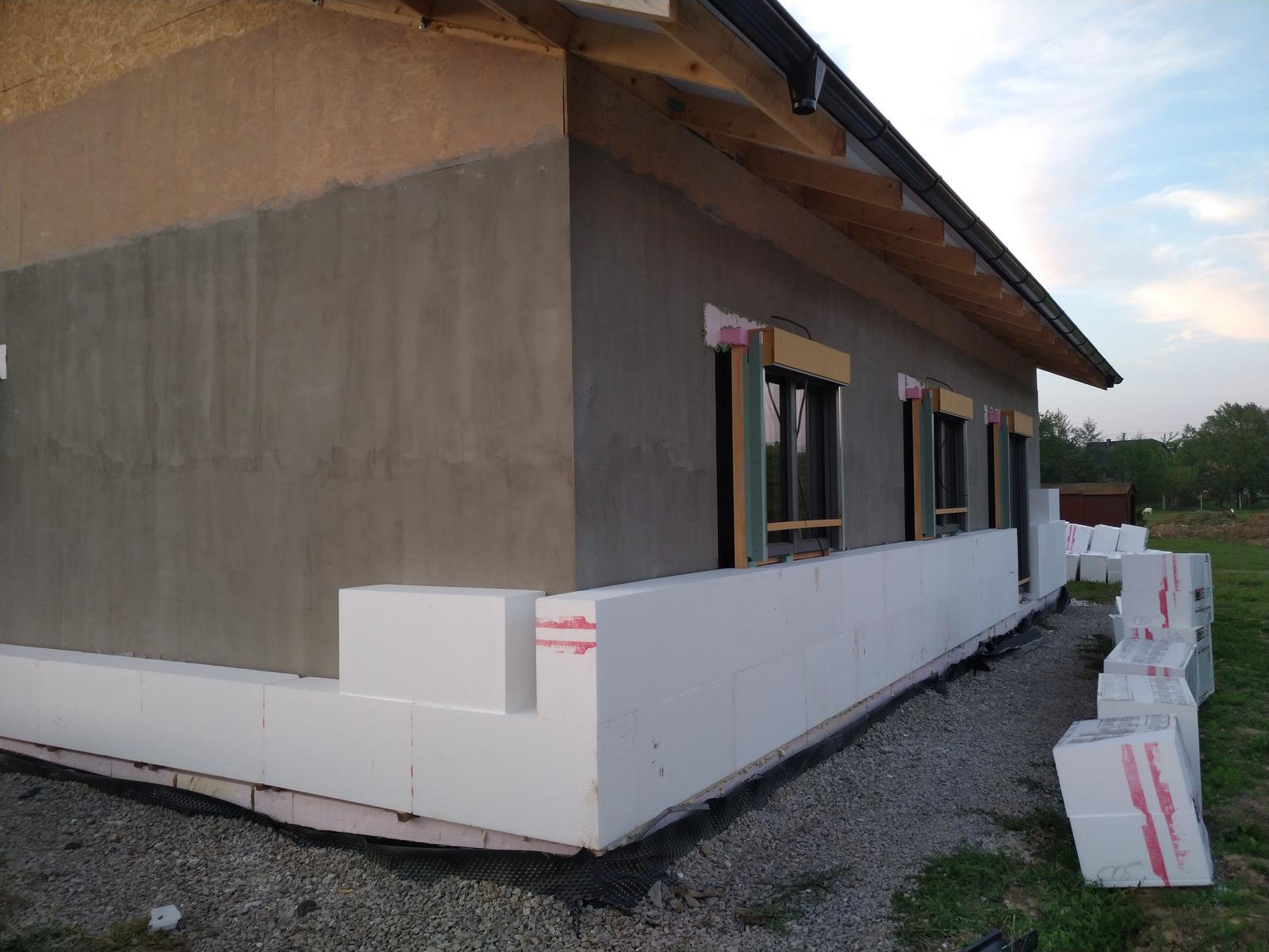 Náš Dom základy na XPS - EPS 80F 30cm