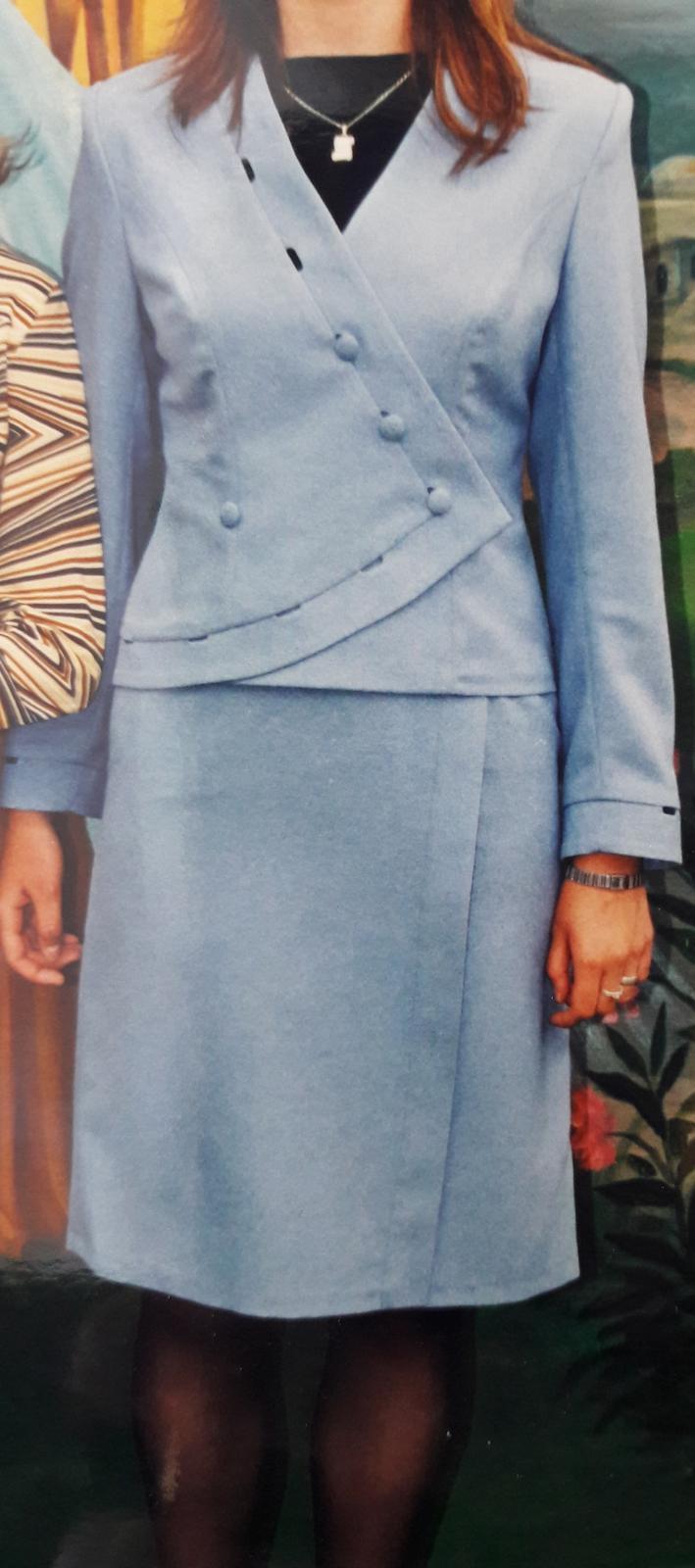 Zaujímavý sukňový kostým - Obrázok č. 1