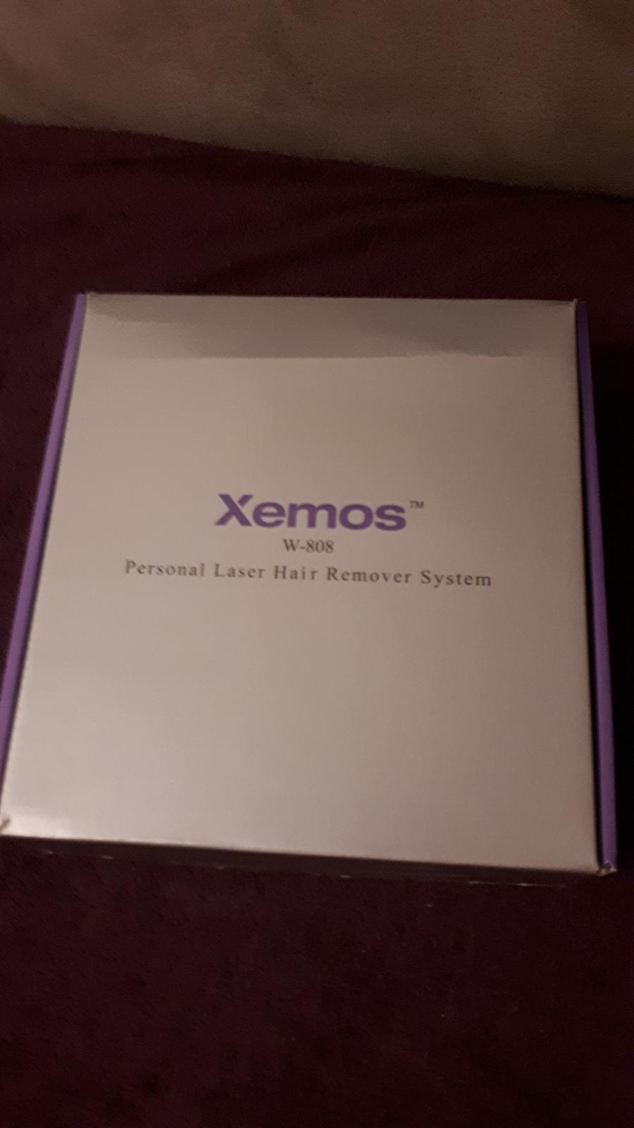 XEMOS Laserový prístroj na odstraňovanie chĺpkov - Obrázok č. 3