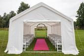 Svatební koberec,