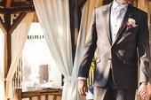 Vesta BANDI - set s kravatou a kapesníčkem, 54