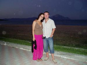 na dovolenke v Grécku