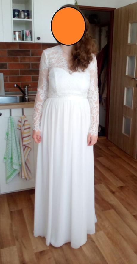 Svatební šaty vel.38 - Obrázek č. 3