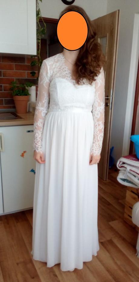 Svatební šaty vel.38 - Obrázek č. 2