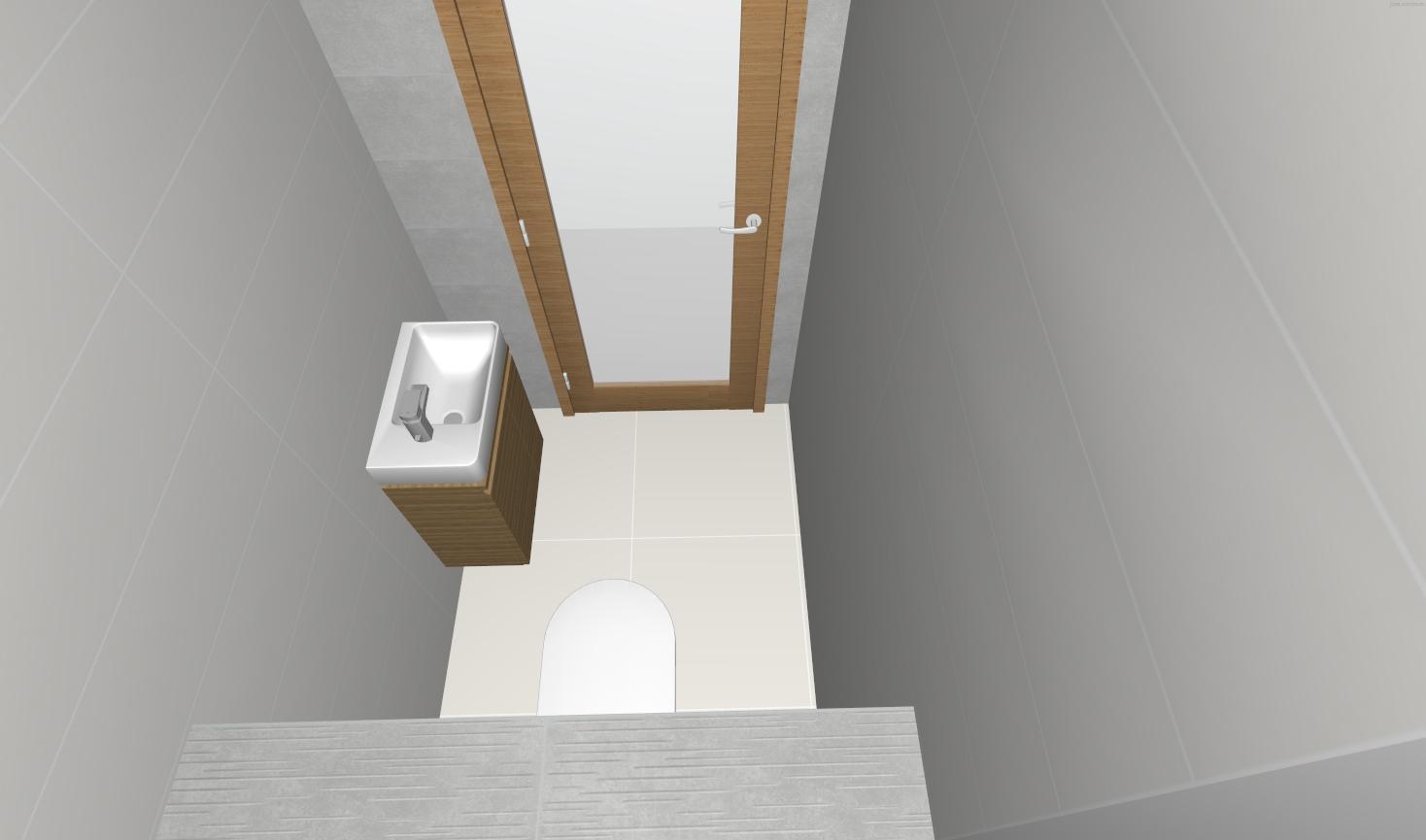 Návrh WC + Kúpelňa - Obrázok č. 2