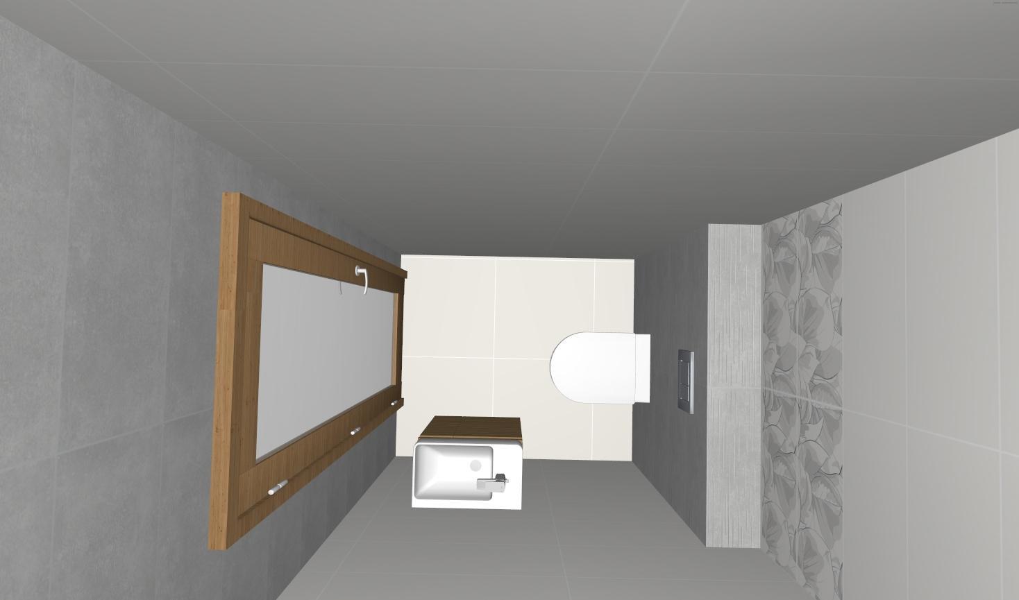 Návrh WC + Kúpelňa - Obrázok č. 3