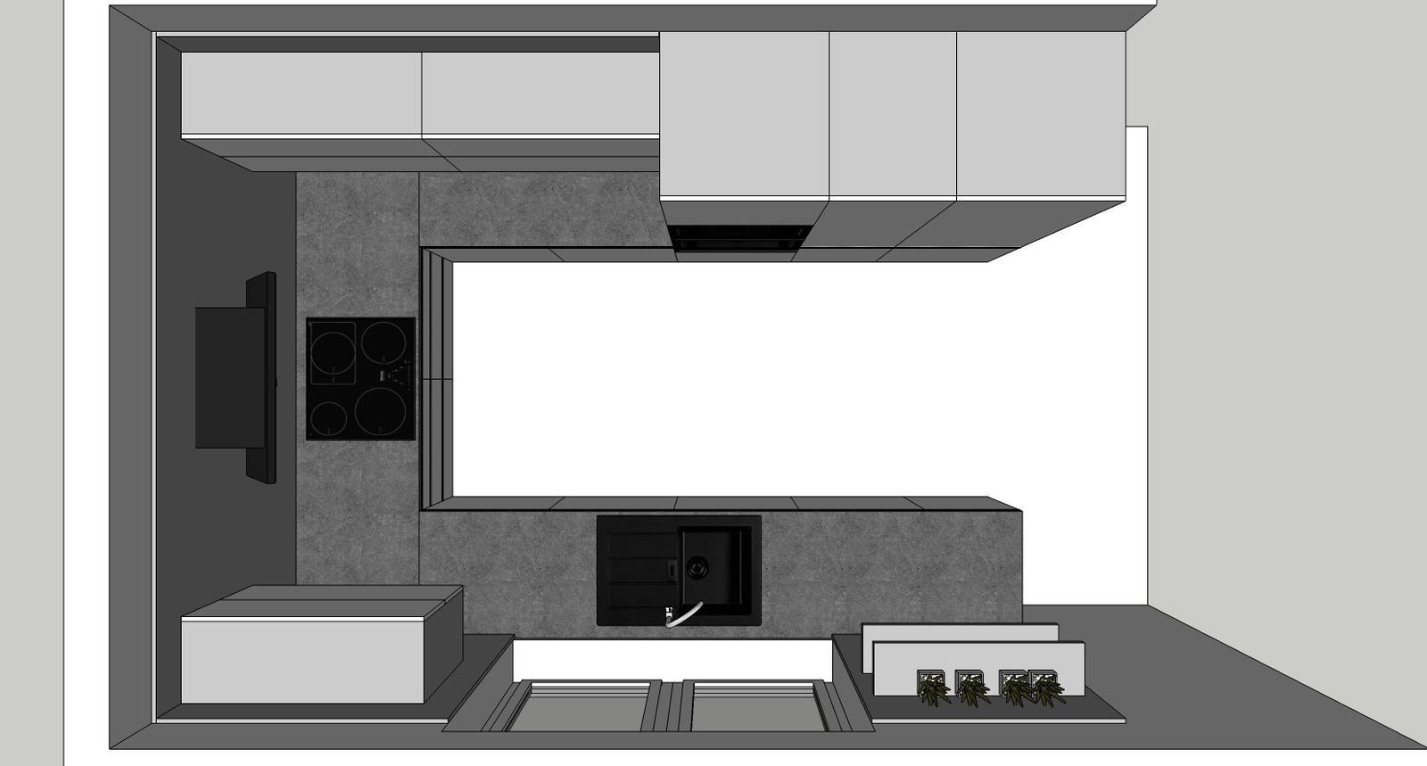 Návrh kuchyňa končná - Obrázok č. 1