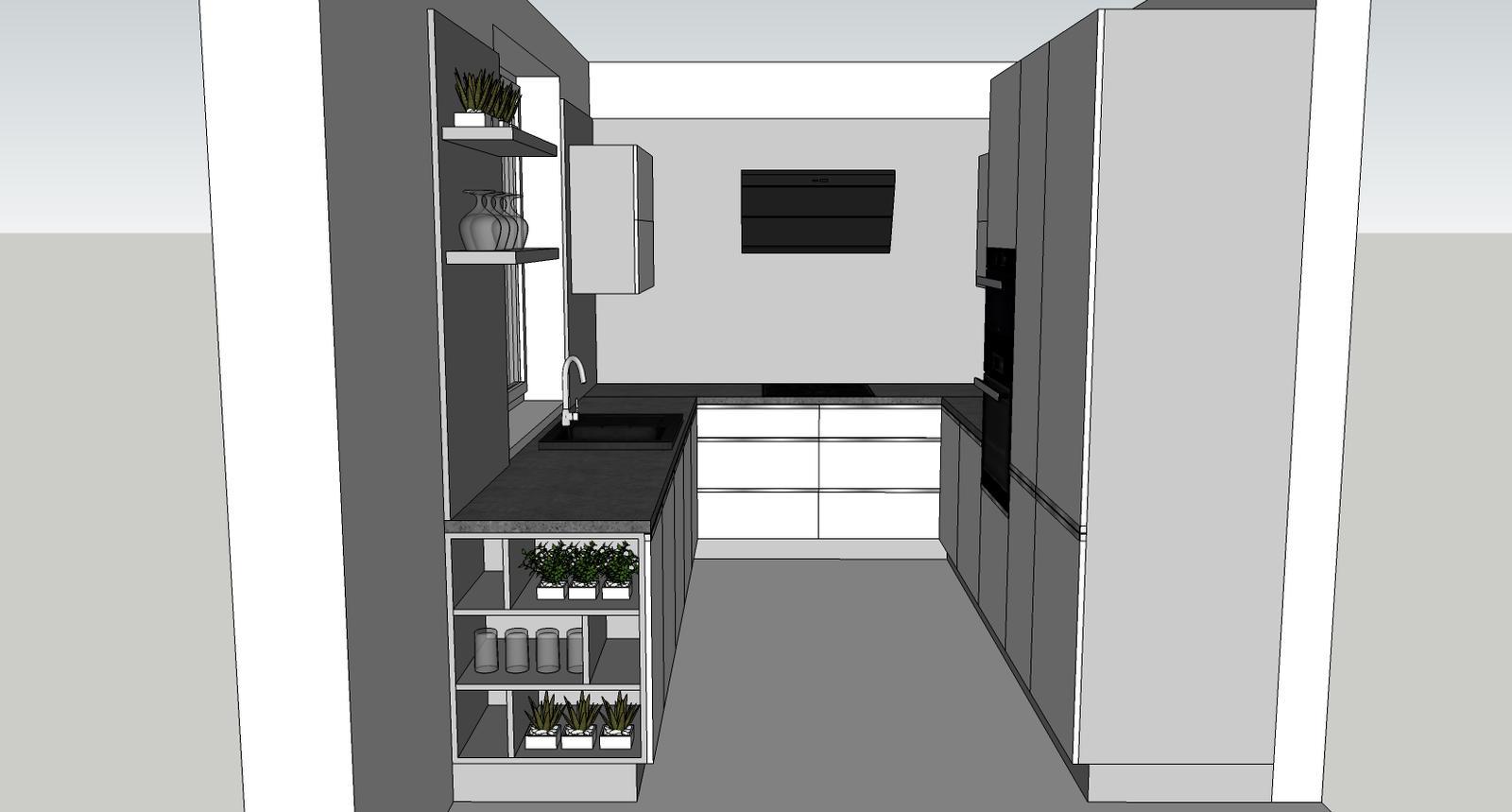 Návrh kuchyňa končná - Obrázok č. 3