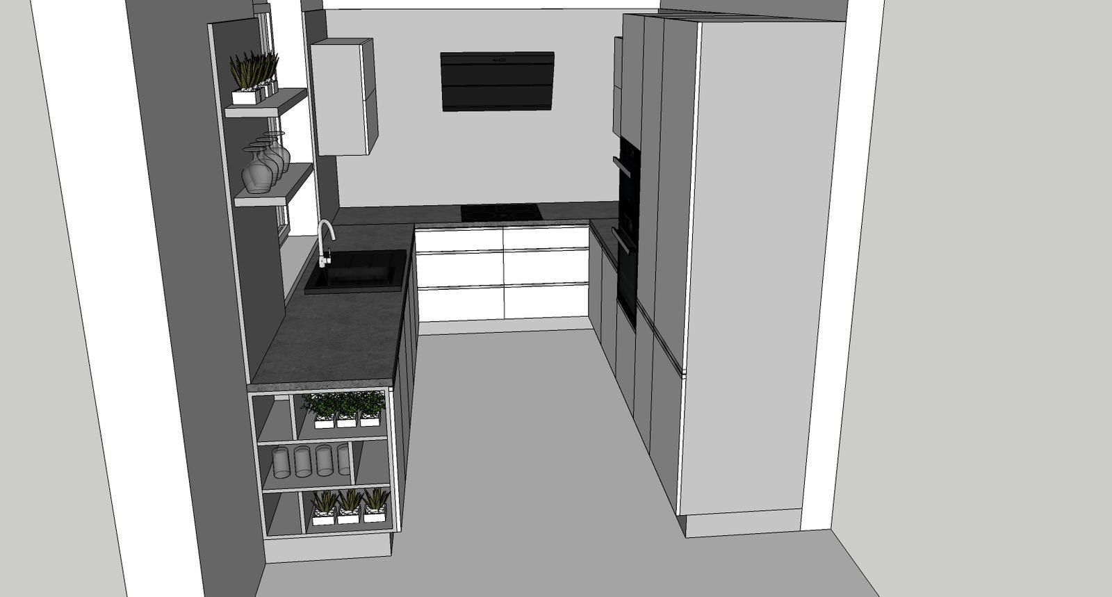 Návrh kuchyňa končná - Obrázok č. 5