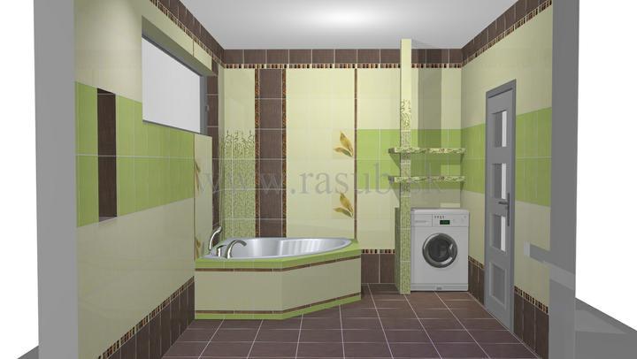 Naša vizualizácia kúpeľne - Obrázok č. 3