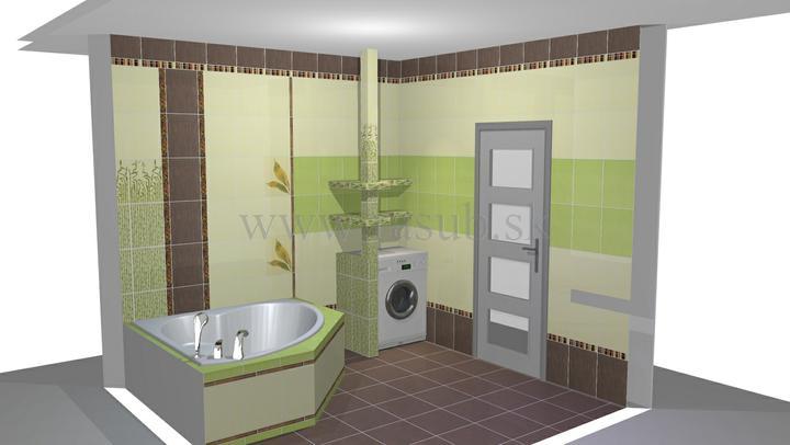 Naša vizualizácia kúpeľne - Obrázok č. 4
