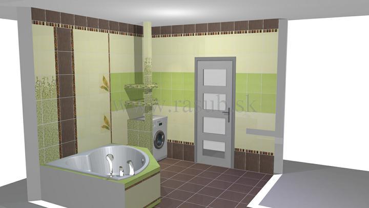 Naša vizualizácia kúpeľne - Obrázok č. 5