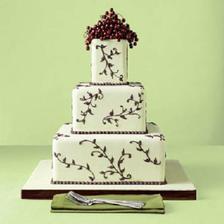 1.) genialna torta! Ale ja chcem okruhlu! :-) Takuto ale okruhlu a hore kvety Calla, tak ako bude aj kytica. Cena: cca 3.000 Sk. Upecie Andrea z okresu TT (www.tortyodmamy.sk)