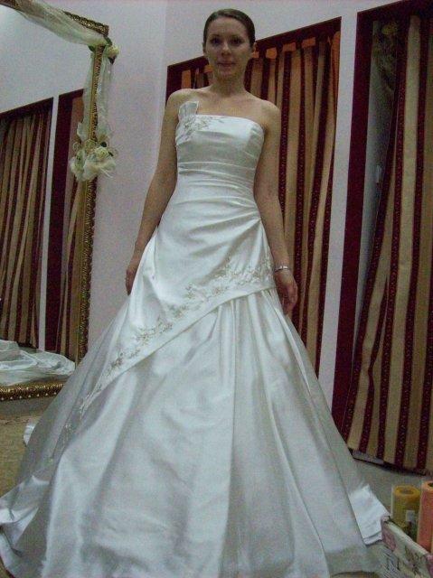 Skúšanie svadobných šiat - šaty 2 OC Galeria