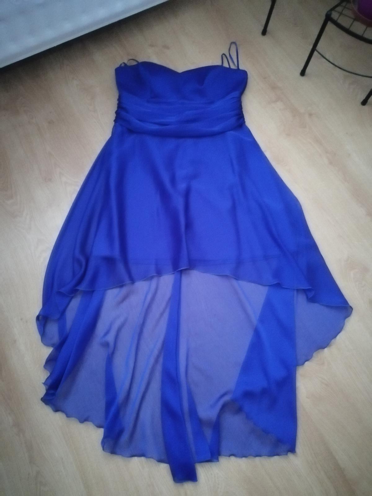 Spoločenské šaty veľ. 44 - 46 - Obrázok č. 1