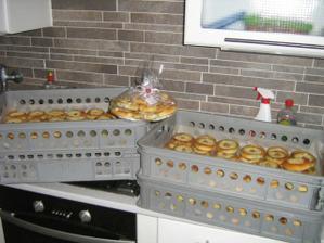 takhle vypadá 150 koláčků :-)