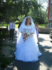 nevěsta v celé své kráse :-))