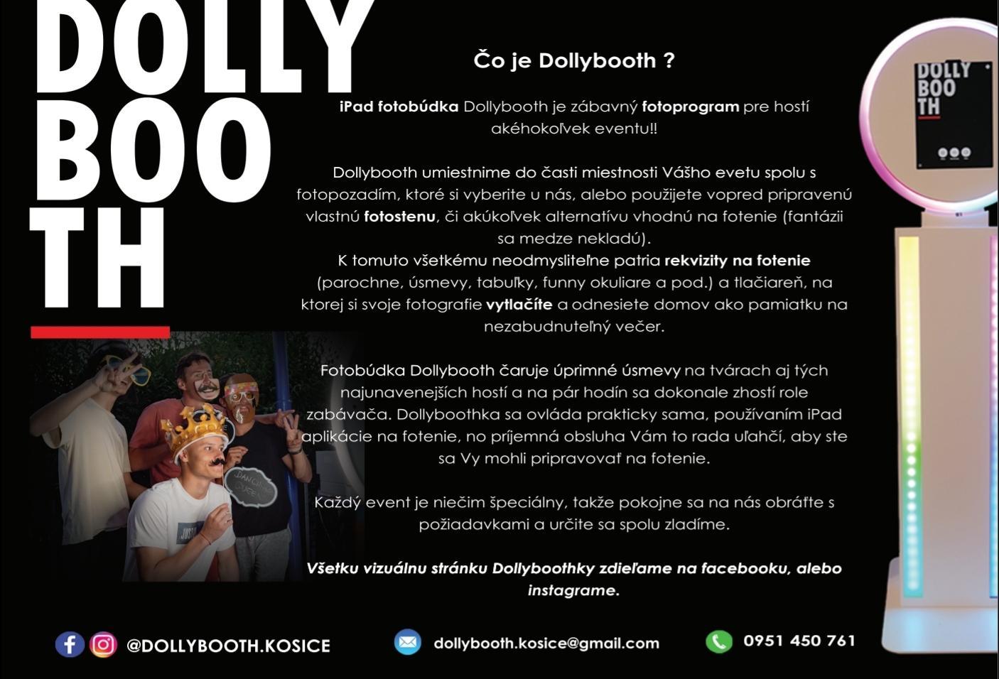 Fotobúdka Dollybooth - Obrázok č. 4