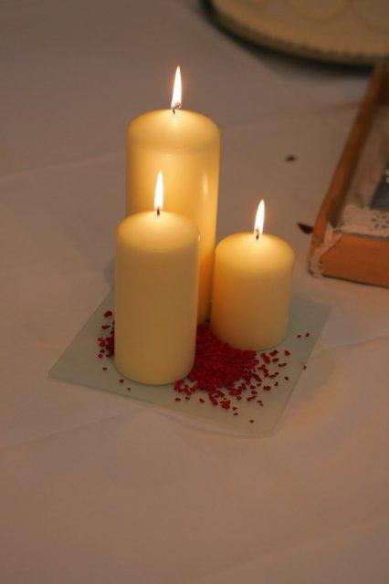 Sviečky predsa nesmú chýbať