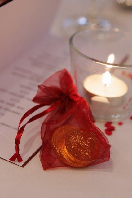 Moja fialova svadba - Darček pre hostí