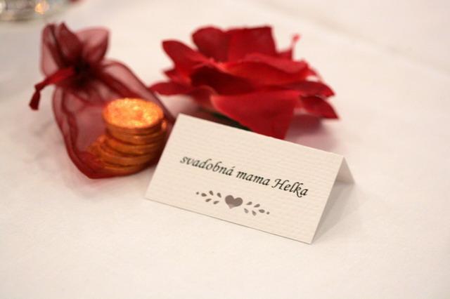 Vysnivana svadba - Ina verzia menovky...