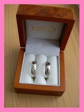 snubní prstýnky už máme doma :-)