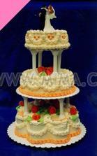dortík bude bílo-růžový