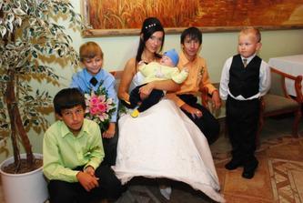 najmladší svadobčania