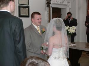 svatební slib z očí do očí