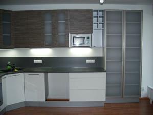 Kuchyň - delší strana
