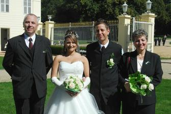 rodiče ženicha (groom´s parents)
