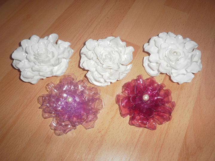 Moje Handmade (Handmade by Suraya) - Ruže z PET fliaš