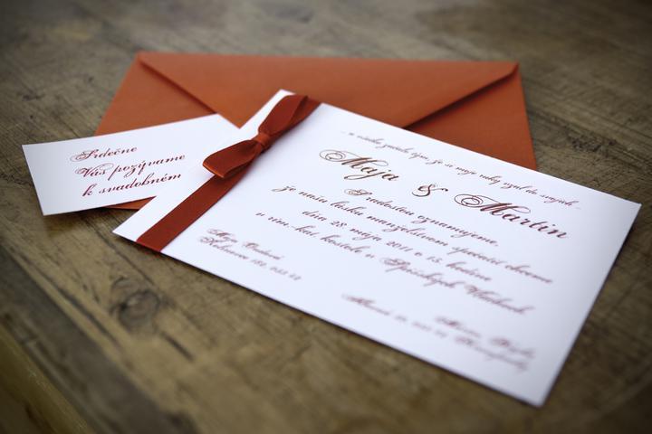 Pozvánky - samovýroba - toto ešte vyskúšam